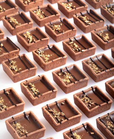 צילום של קרמו שוקולד