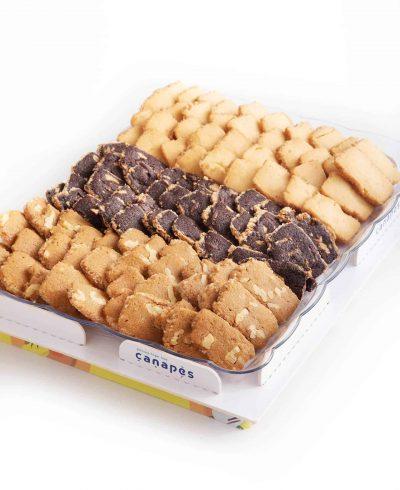 צילום של מגש עוגיות הבית
