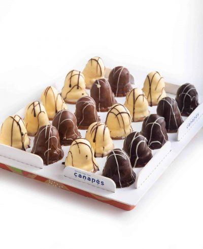 צילום של מגש קרמבו שוקולד