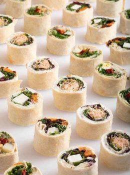 חטיפי טורטייה סושי