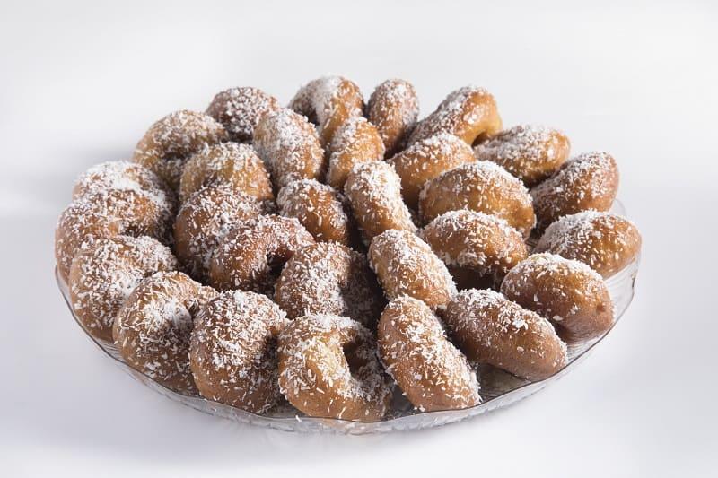 צילום של מגש עוגיות יויו