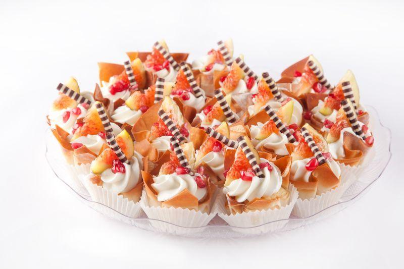 צילום של מיני חטיפי פילו מתוק, פרווה